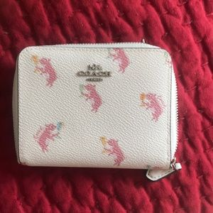 Coach party pig wallet